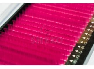 Цветные ресницы Розовые Mix, i-Beauty (20 лент)