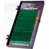 Цветные ресницы на ленте Зеленые Mix, i-Beauty (20 лент)